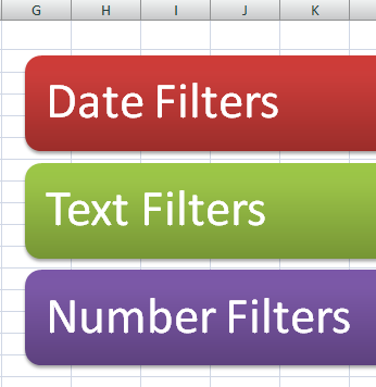 how to add data in excel filter