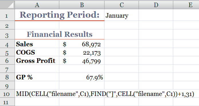 Dynamically Update a Cell with an Excel Worksheet Name | The ...