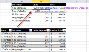 Refer to Excel Table in Formula