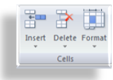 Commands in Cells Group