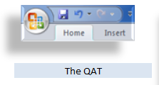 Quick Access Toolbar Office 2007