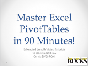 Master Pivot Tables in Minutes