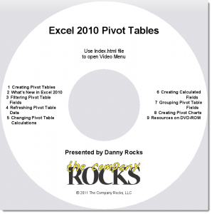 Pivot Tables Video Tutorial