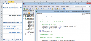 Edit VBA Code for Macro